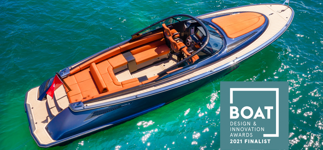 Wajer Yachts 38 Design Innovation award header new